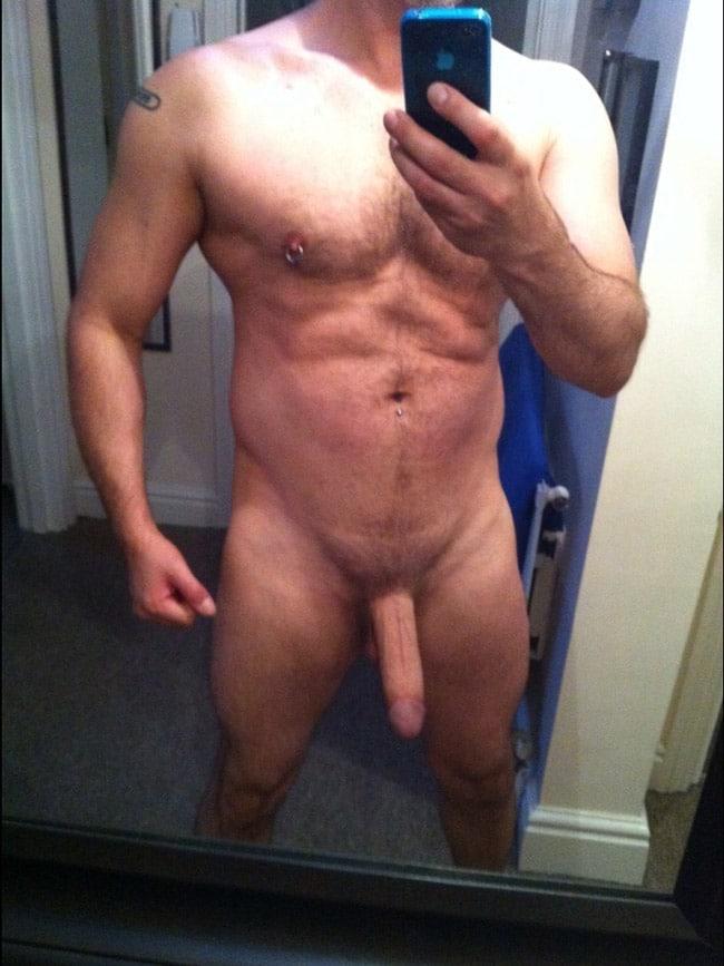 Semi Hard Cock