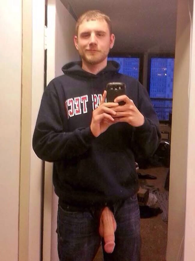Clothed Dude's Dick