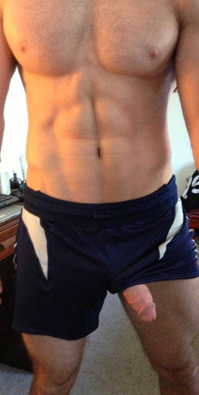 Hard Dick In Boxers