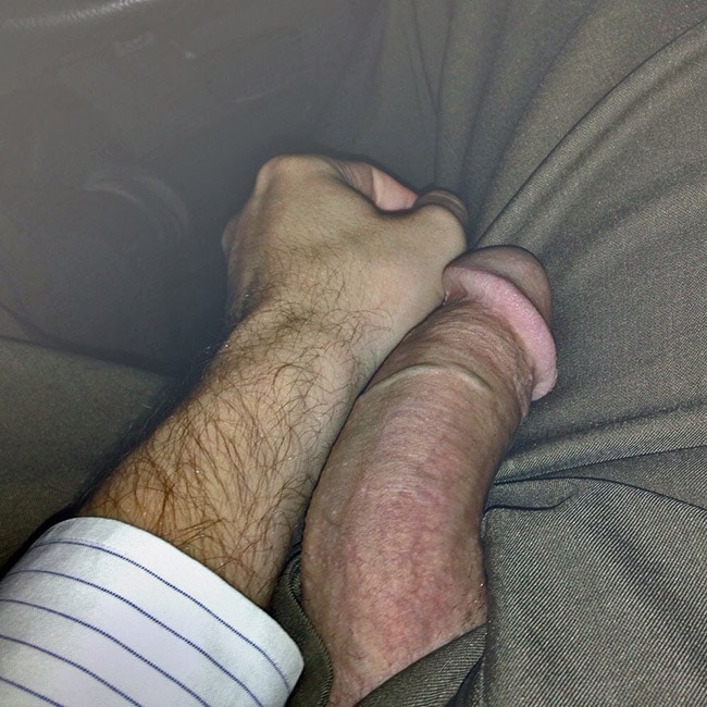 Guy Compares His Penis With An Arm - Nude Man Cocks