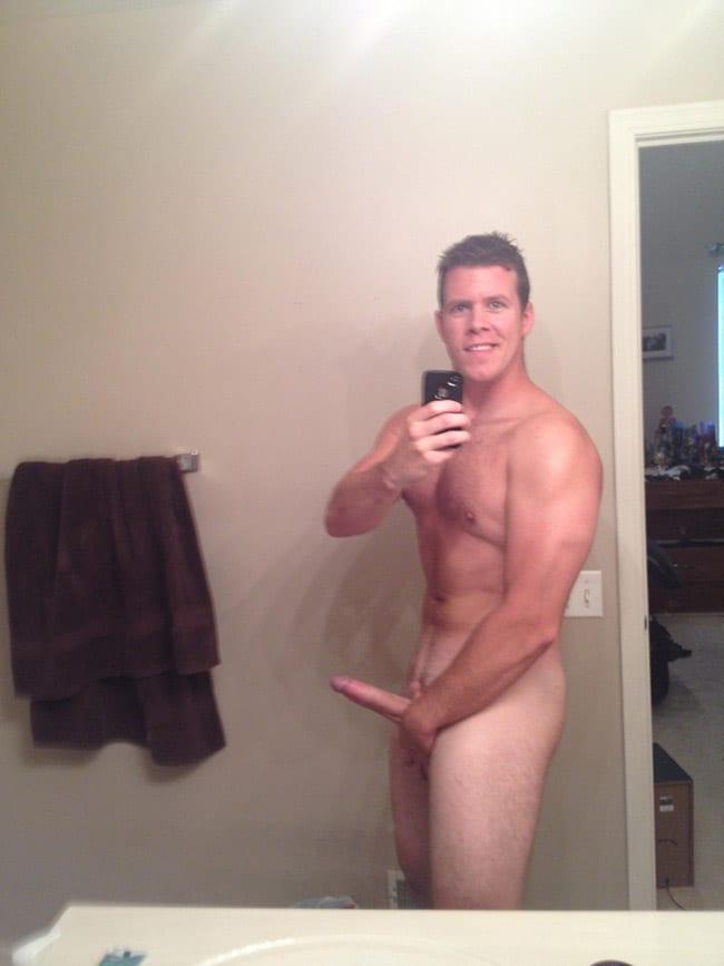 Strong Fella Posing